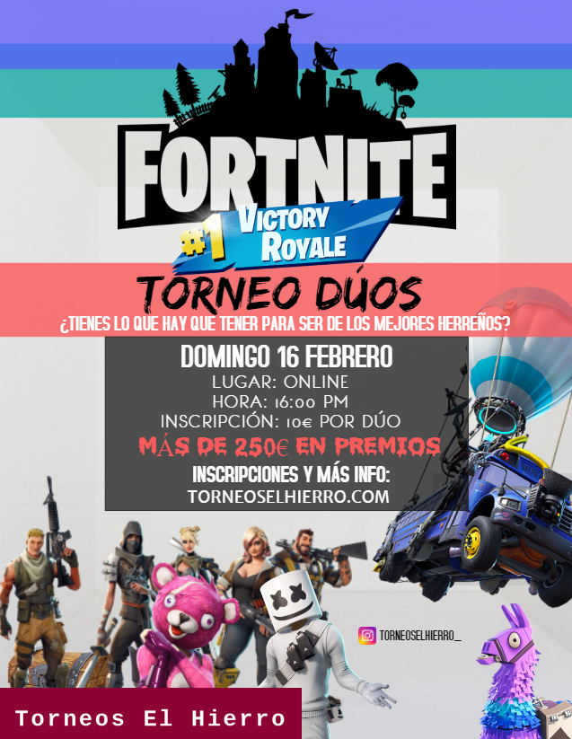 Cartel de Fortnite